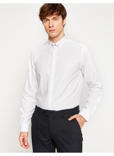 Klasik Slim Fit Gömlek-Koton
